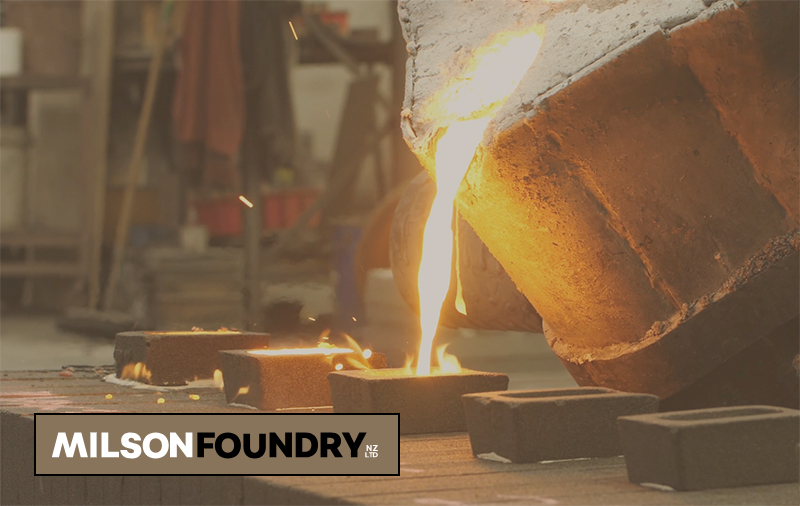 CNC Turning for Milson Foundry